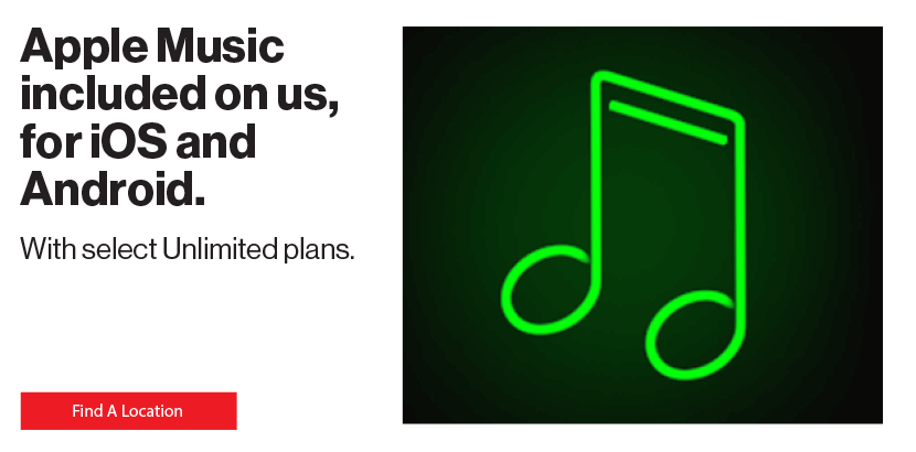 Apple Music included on us, for iOS and Android