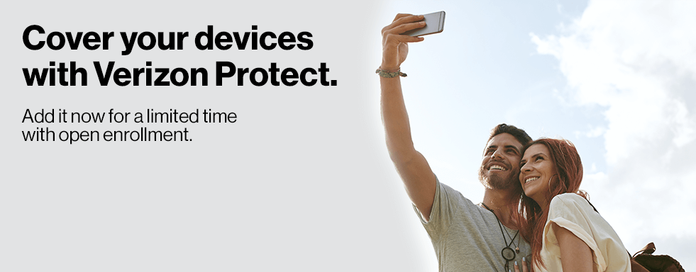 Cover your devices with Verizon Protect