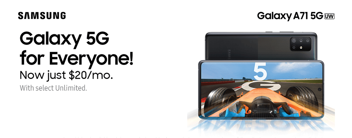 Galaxy 5G for Everyone!